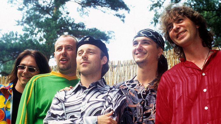 Fools Garden 1991 bei der Bandgründung