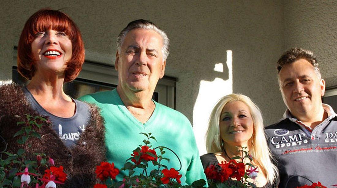 Frank Fussbroich mit Eltern Fred und Annemie und Frau Elke heute