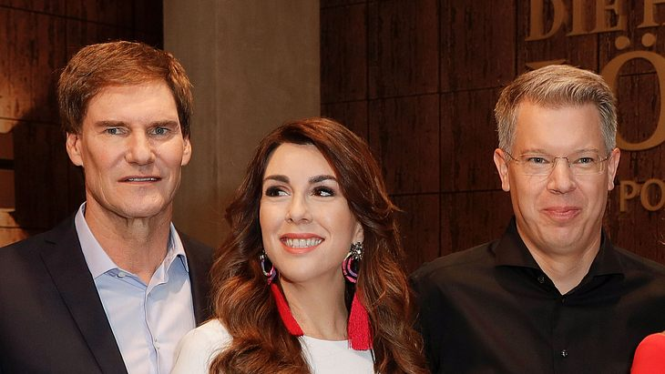 Frank Thelen, Carsten Maschmeyer und Judith Williams