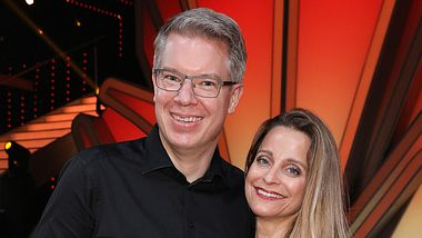 Frank Thelene Ehefrau Nathalie - Foto: Getty Images