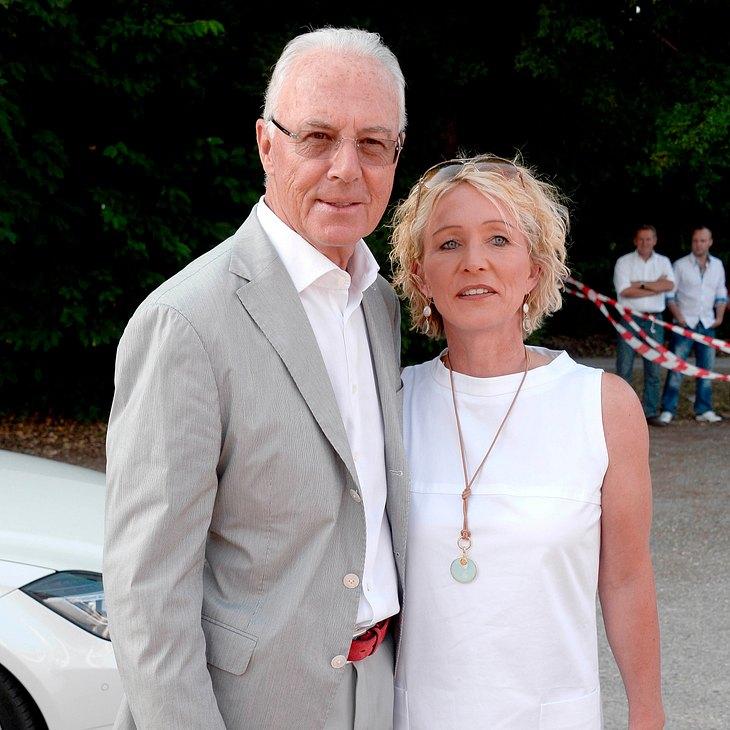 Ist Franz Beckenbauers Ehe in Gefahr?