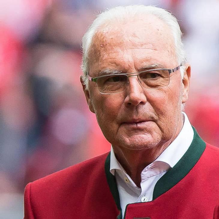 Franz Beckenbauer hat keine Kraft mehr