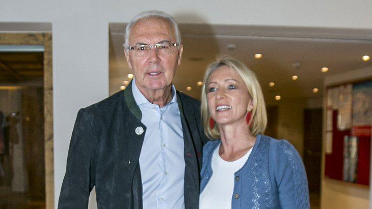 Franz Beckenbauer liebt Heidi von ganzem Herzen