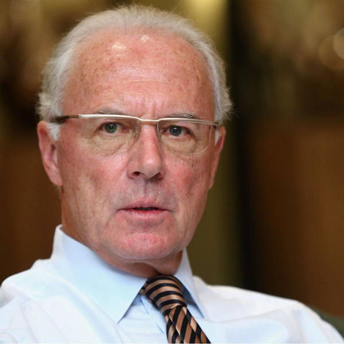 Franz Beckenbauer wurde erneut operiert