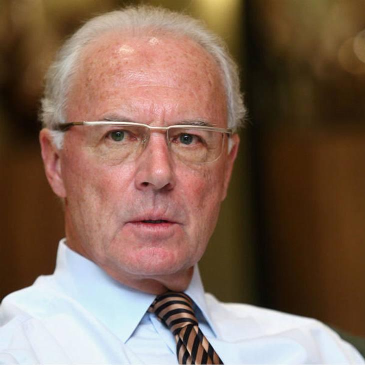 Franz Beckenbauer musste wieder in die Klinik
