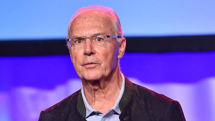 Franz Beckenbauer hatte einen Augeninfarkt