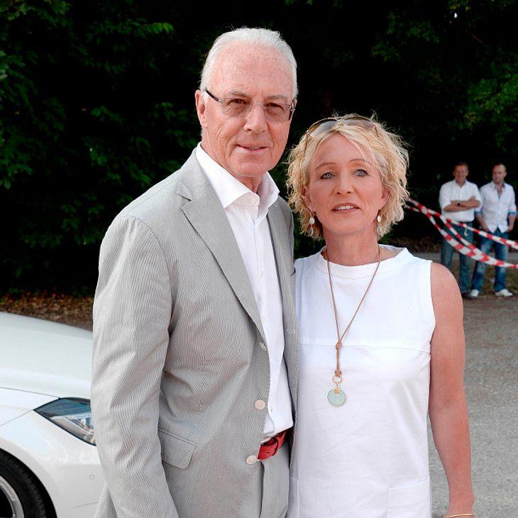 Franz Beckenbauer: Verlässt ihn jetzt seine Ehefrau?