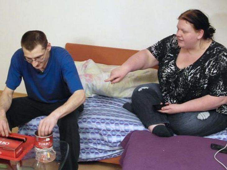 Uwe und Daniela präsentieren sich als glückliche Vollzeit-Chiller
