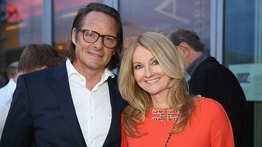 Frauke Ludowig und ihr Mann Kai Roeffen - Foto: Getty Images