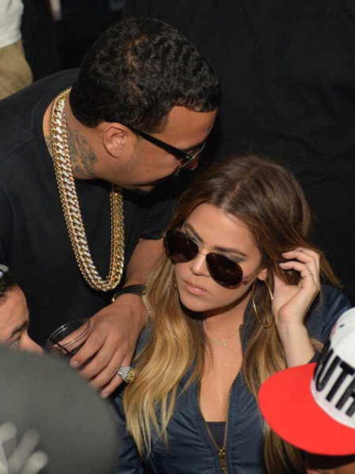 French Montana und Khloe Kardashian