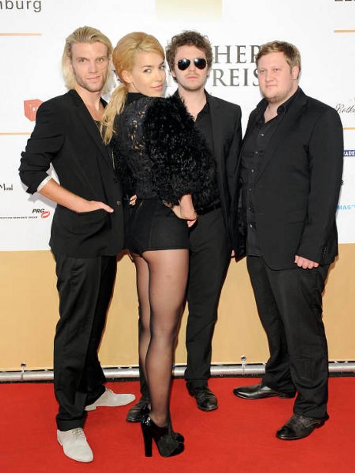 """Bundesvision Songcontest 2011Frida Gold mit """"Unsere Liebe ist aus Gold"""" für Nordrhein-WestfalenAls Vorband von Kylie Minogue können sich die Jungs um Frontfrau Alina Süggerle schon was einbilden. Jetzt wollen sie den Bundesvisison"""