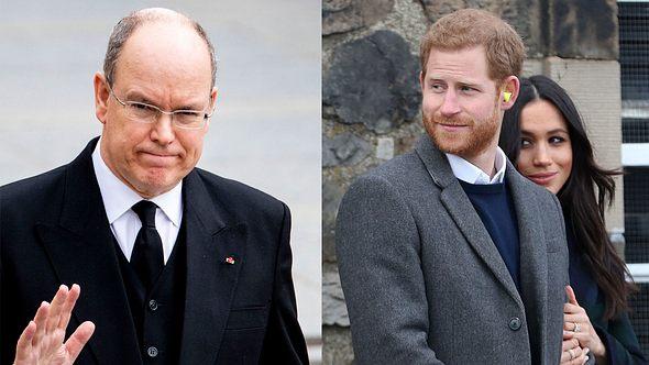 Fürst Albert, Prinz Harry, Herzogin Meghan - Foto: GettyImages