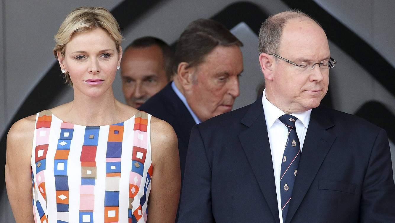 Charlene und Albert von Monaco