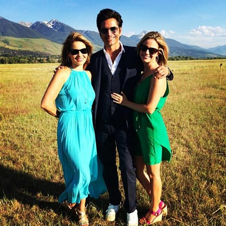 Andrea Barber, John Stamos und Candace Cameron Bure