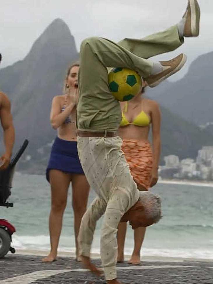 Opa tanzt Break-Dance: Der beste WM-Clip der Welt!