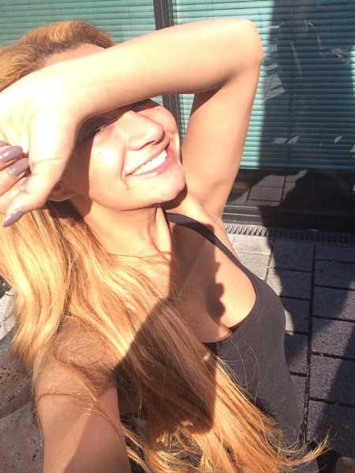 Gabby Rinne: Blonde Haar-Panne?