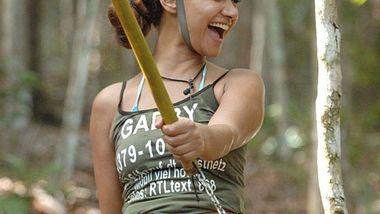 Gabby Rinne verrät Schmuggeltrick im Dschungelcamp - Foto: RTL