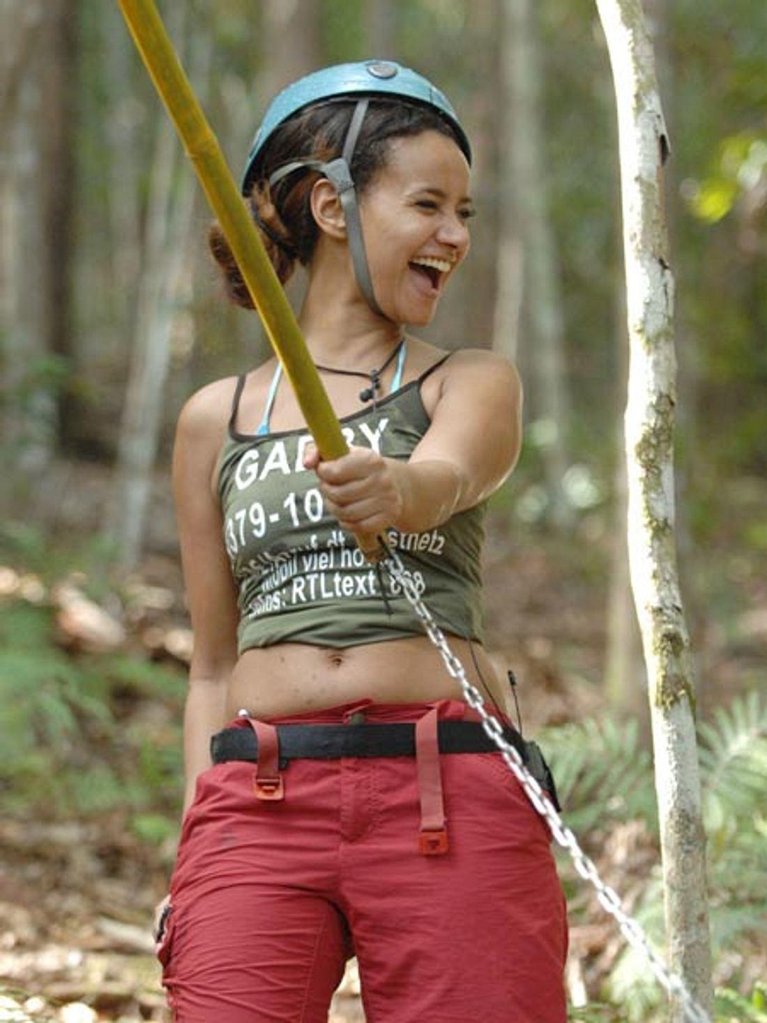 Gabby Rinne hat im Dschungelcamp ordentlich abgenommen
