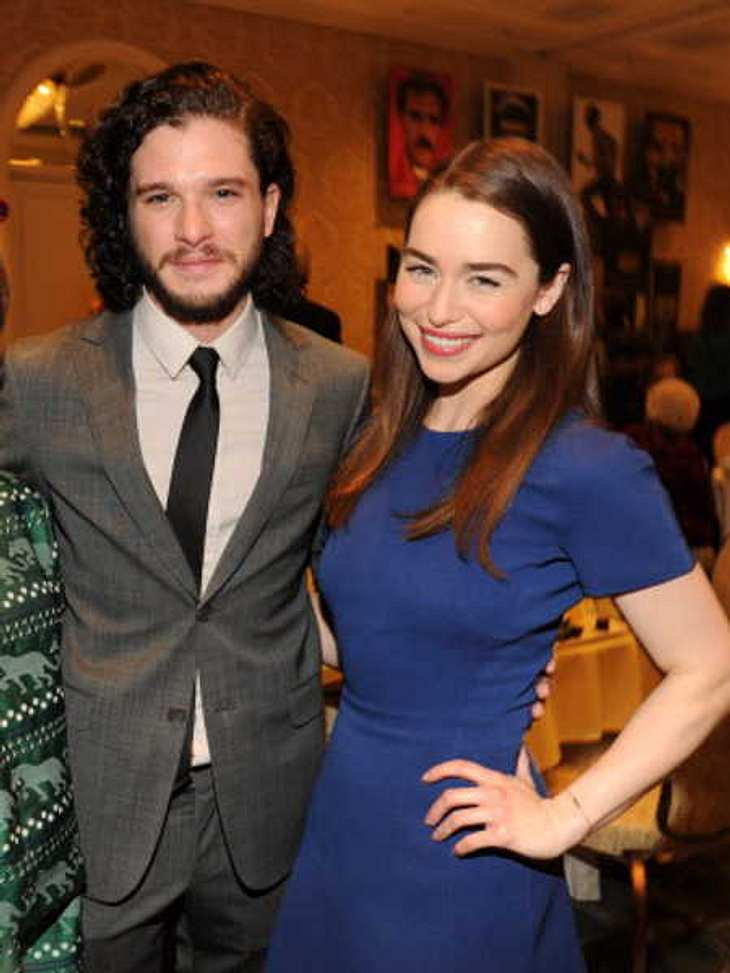 Game of Thrones: Sind Emilia Clarke & Kit Harington ein Paar?