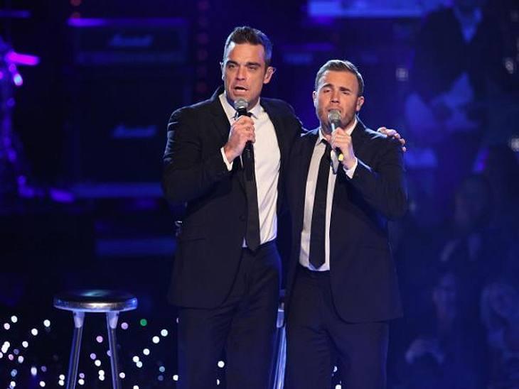 Robbie Williams und Gary Barlow haben zusammen eine Single aufgenommen