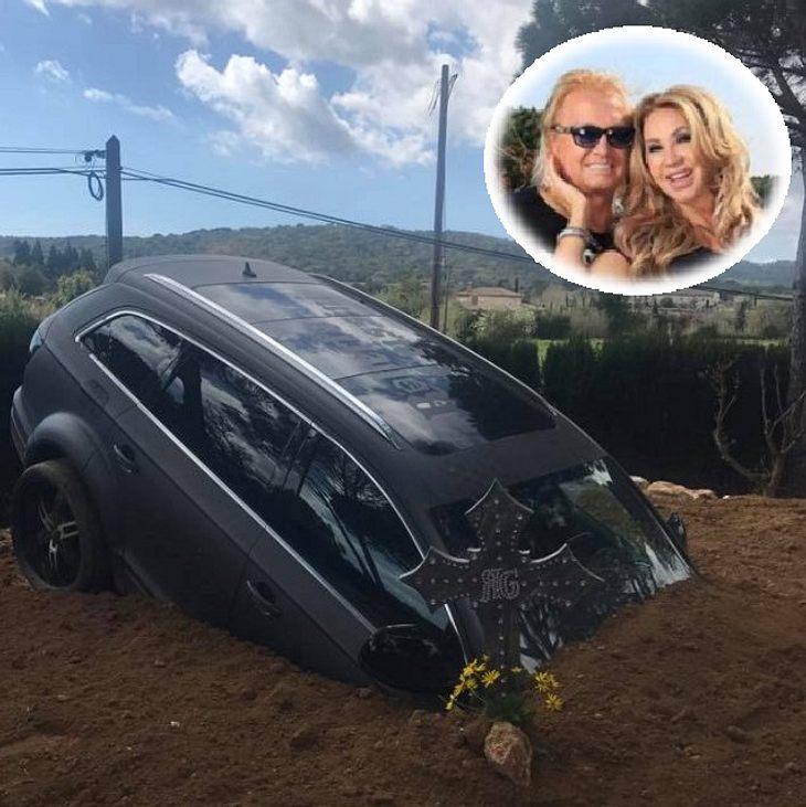 Die Geissens begraben ihr Auto