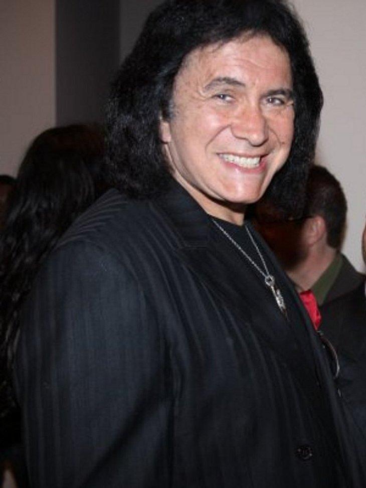 Gene Simons von Kiss ist auch ein prominenter Fan der Bullets4Peace.