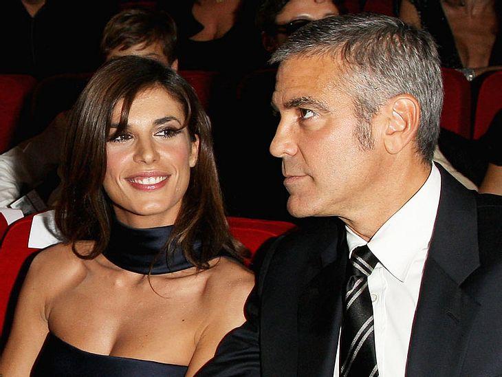 """Was George Clooney davon halten mag, dass sich Elisabetta Canalis angeblich für den """"Playboy"""" nackig gemacht hat?"""