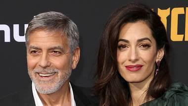 George und Amal Clooney - Foto: imago