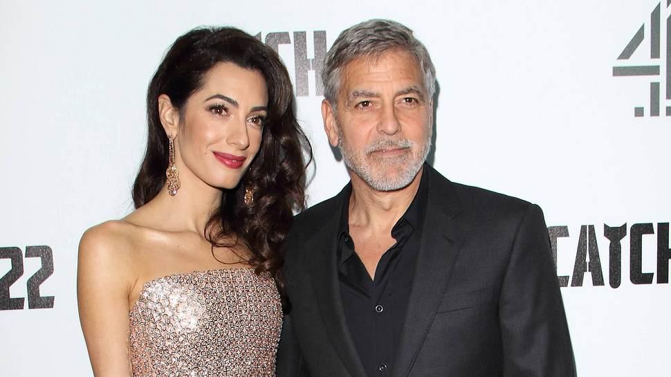 George Clooney und Amal - Foto: IMAGO / ZUMA Wire