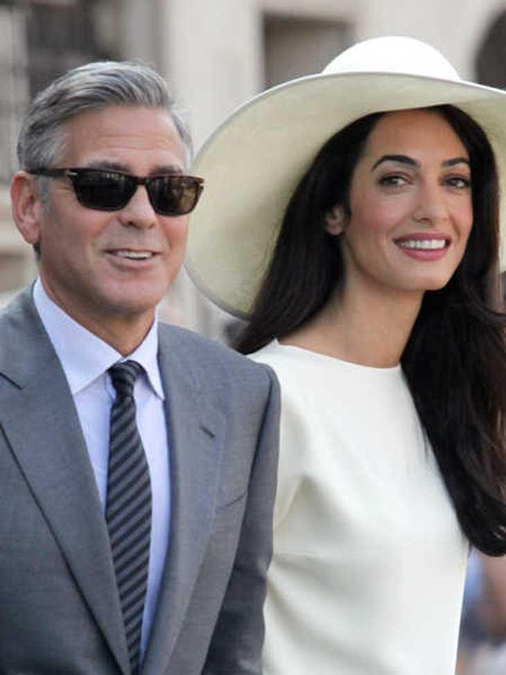 George Clooney und Amal bekommen kein Baby