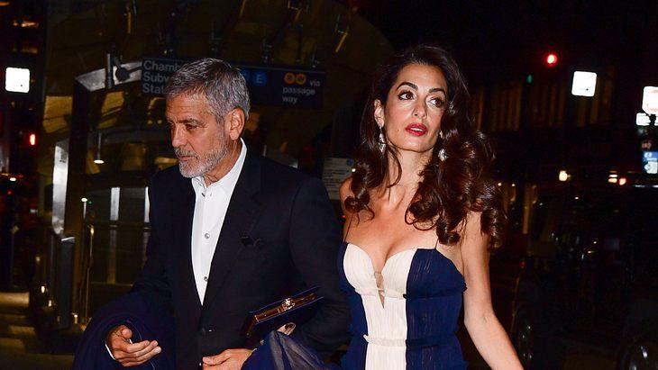 Kann ein Baby die Ehe von George Clooney retten?