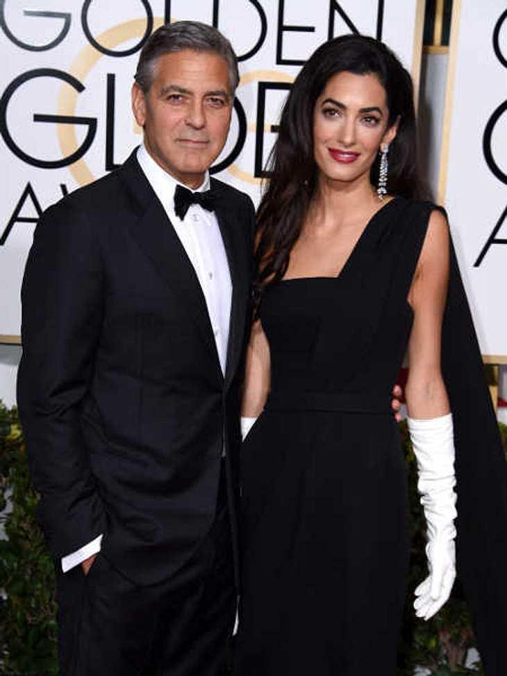 Amal Clooney beantwortete den Heiratsantrag nicht gleich.