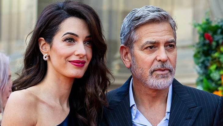 George Clooney hat Angst um seine Familie
