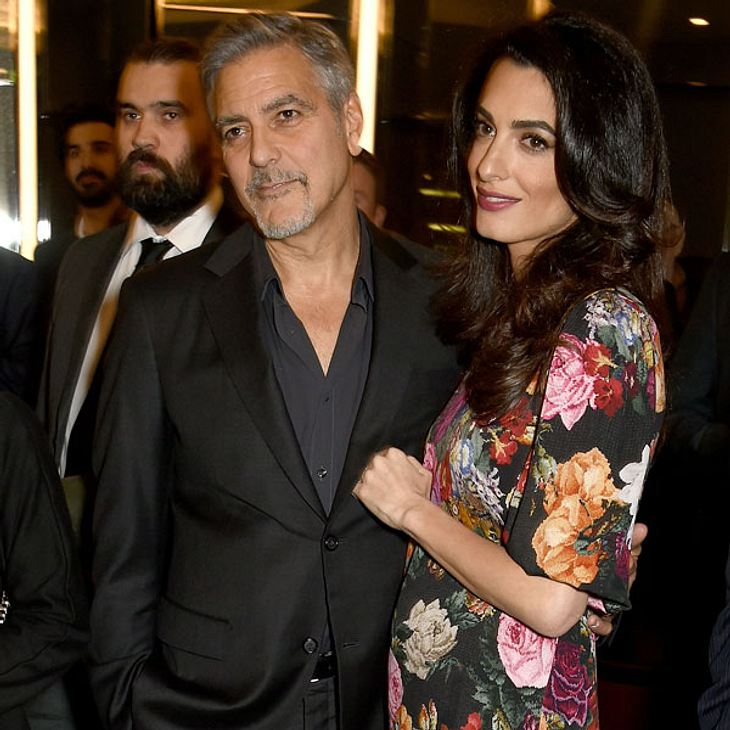 George Clooney Amal schwanger
