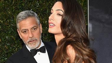 George Clooney und Amal haben sich nichts mehr zu sagen - Foto: GettyImages
