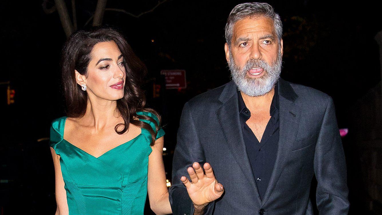 George Clooney: Sorge um Sohn Alexander