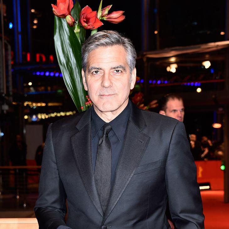George Clooney war betrunken beim Vorsprechen
