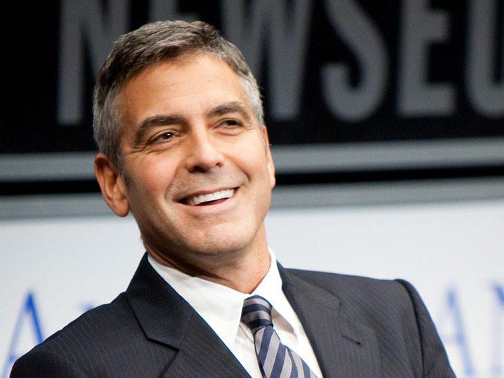 Hollywoods sexy JunggesellenKeine Junggesellen-Liste ohne George Clooney. Auch wenn er inzwischen 50 Jahre alt ist, er ist und bleibt irgendwie spannend.