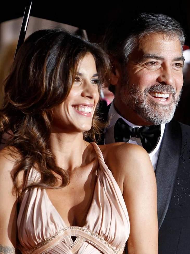 Was wohl George Clooney zum Koks-Näschen Elisabetta Canalis sagt?