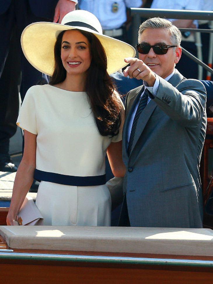 Mr. und Mrs. Clooney...