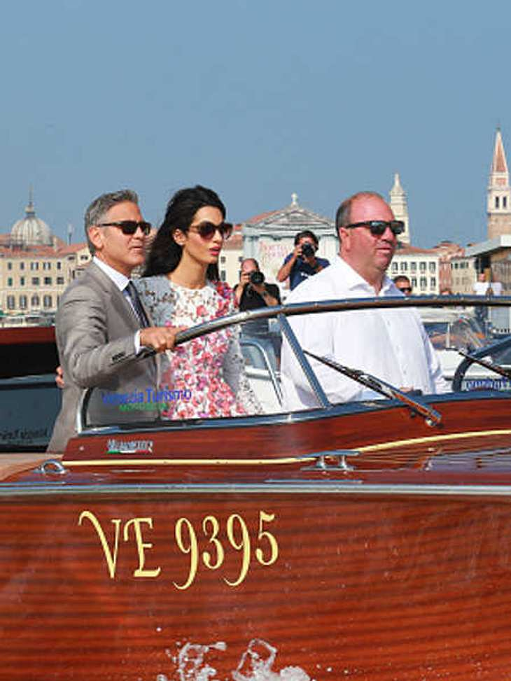 George Clooney. Der Boots-Chauffeur war sein Trauzeuge!
