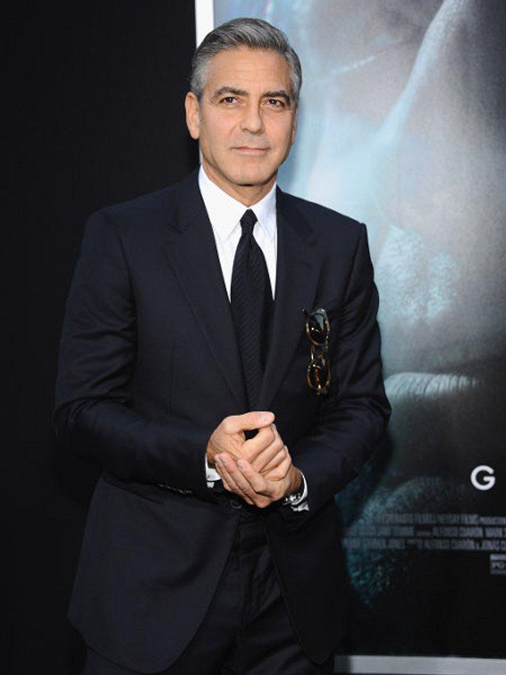 George Clooney bleibt nie lange Single