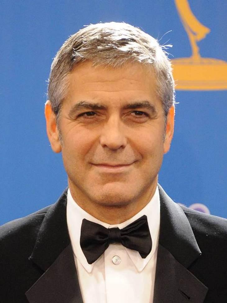 """George Clooney gehört wohl zu den begehrtesten Männern Hollywoods. 1997 und 2006 verlieh das """"People Magazin"""" ihm den Titel des """"Sexiest Man Alive""""."""
