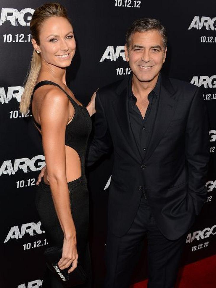 George Clooney und Stacy Keibler sind doch nicht getrennt