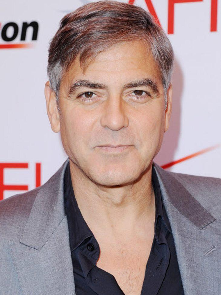 George Clooney: Hat sich der Womanizer tatsächlich verlobt?
