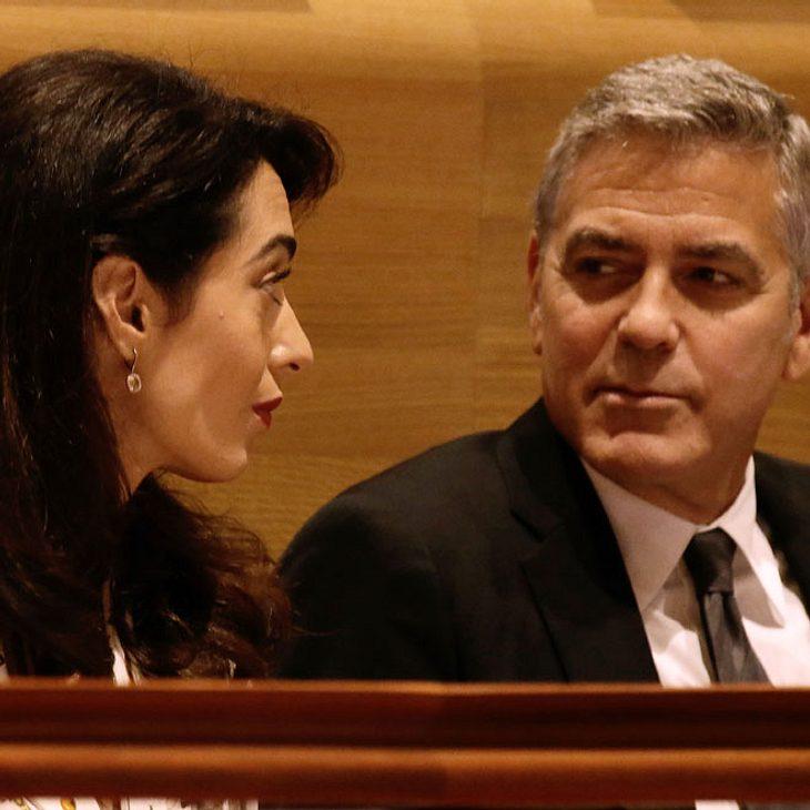 George Clooney: Große Sorge um die Zwillinge!