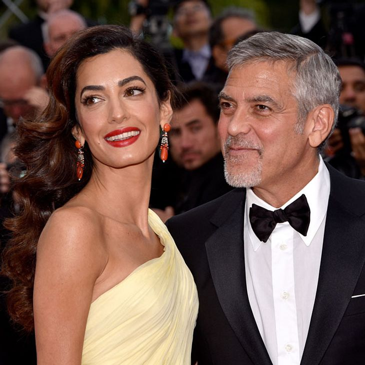 """George Clooney kicks Amal out for endangering the family"" claims Germany tabloid George-und-amal-clooney-bab"