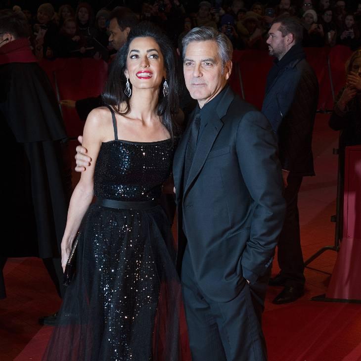 George Clooney und Amal Clooney können ihr Schloss nun beziehen