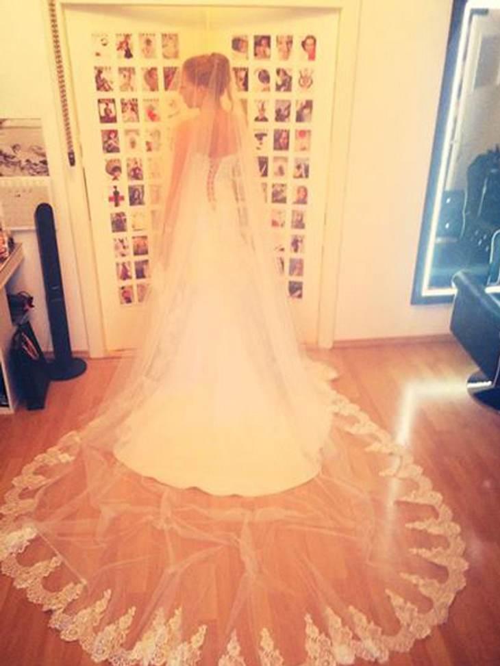 Georgina Fleur im Brautkleid