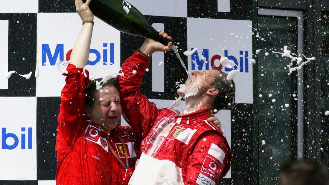 Jean Todt und Michael Schumacher